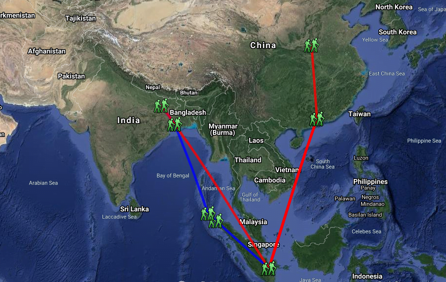 Yi-Jing-Pilgrimage-Route