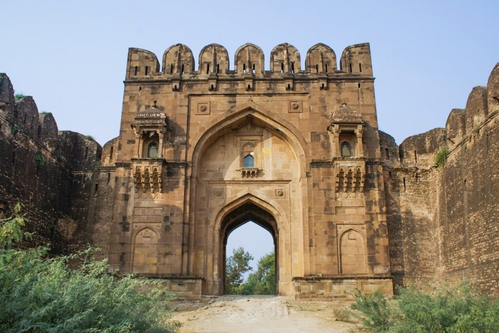 Rohtas Fort Gate Image
