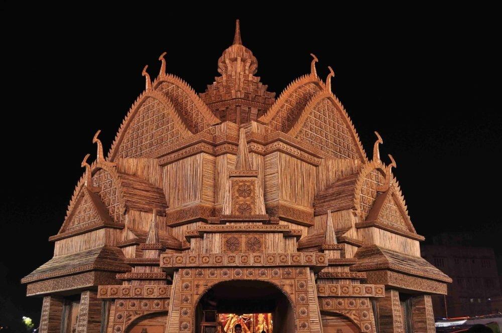 Durga Puja Pandal Image