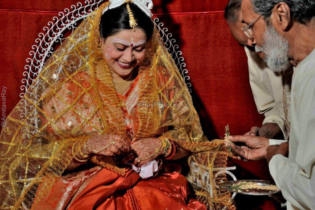 Bengali bride Ashirwad D178